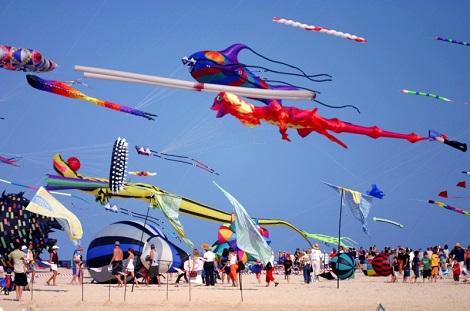 Sanur Beach Bali Kite Festival