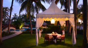Santosa resort lombok tuin_2