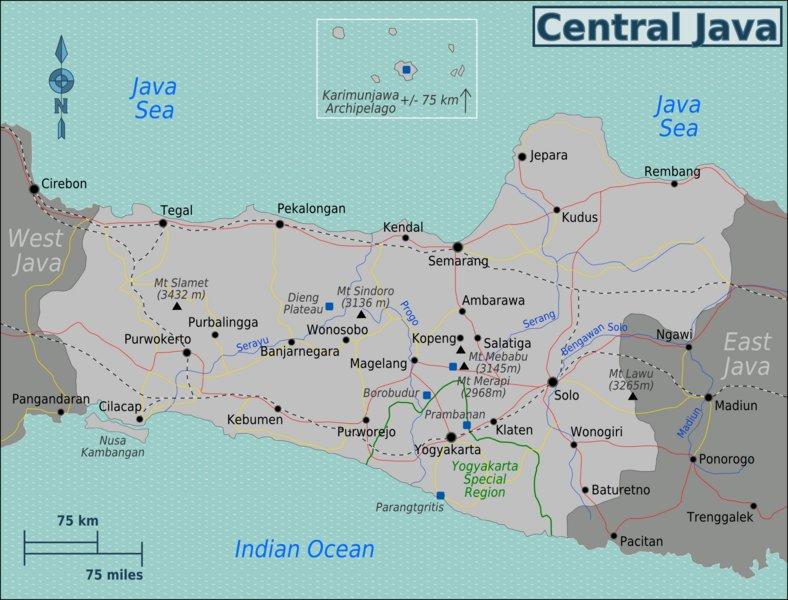 Central_Java_Region_map