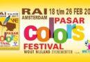 Gratis toegang 'Pasar Colors festival' RAI Amsterdam