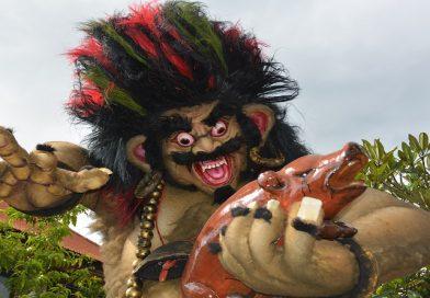 Nyepi, het Balinese nieuwjaar en Ogoh-Ogoh: een bizarre optocht