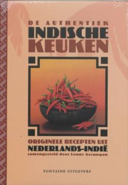 Boek: De Authentieke Indonesische keuken - Lonny Gerungan