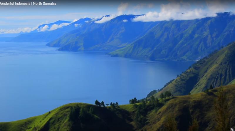Toba meer, Noord Sumatra, Indonesie